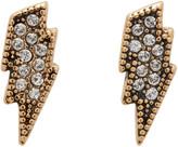 Marc Jacobs Gold Lightning Coin Earrings