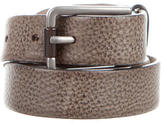 Brunello Cucinelli Embossed Buckle Belt