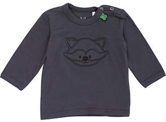 Green Cotton Fred's World by Baby Raccoon Front l/sl T T-Shirt,18-24 Months