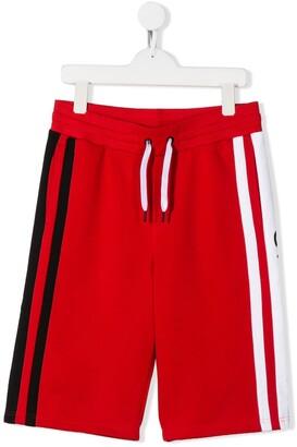 Givenchy Kids side stripe shorts