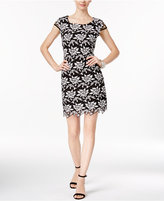 INC International Concepts Petite Lace Sheath Dress, Only at Macy's
