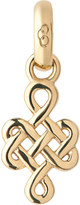 Links of London Infinity knot 18ct yellow-gold charm