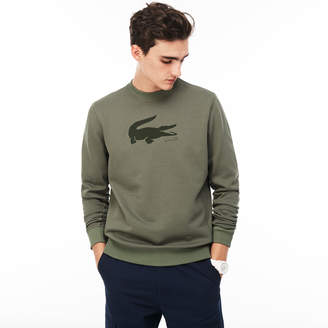 Lacoste Men's Crocodile Print Sweatshirt