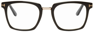 Tom Ford Black Blue Block Bridge Glasses