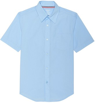 French Toast Boys Short Sleeve Classic Dress Shirt