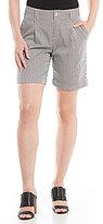 Gibson & Latimer Striped Cuffed Short