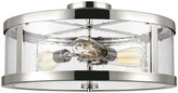 Feiss Harrow 3-Light Semi-Flush Mount - Polished Nickel