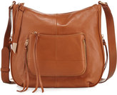 Foley + Corinna Amber Leather Large Crossbody Bag, Honey Brown