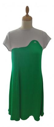 Marine Serre Green Polyester Dresses