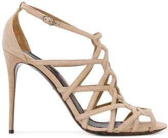 Dolce & Gabbana open toe strapped sandals