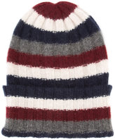 The Elder Statesman striped beanie - unisex - Cashmere - One Size