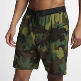 "Nike Men's 18"" Camo Shorts Hurley Phantom Alpha Trainer"