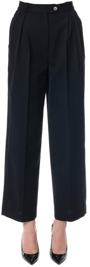 McQ (マックキュー) - McQ Alexander McQueen Black High Waist Straight Leg Paints