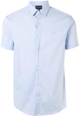 Emporio Armani Micro Stripes Shirt