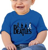 FF Fashion-S Baby Unisex Hey Beatles Yesterday Infant Short Sleeve T-shirt (6-24 M)