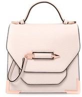 Mackage Rubie Leather Crossbody Bag In Shell/Rosegold