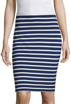 "L'Agence L""AGENCE Women's Khamilla Striped Pencil Skirt"