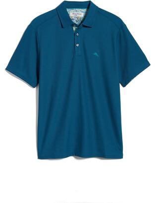 Tommy Bahama 5 O'Clock Tropic Short Sleeve Pique Polo