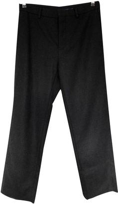 Sofie D'hoore Grey Wool Trousers for Women