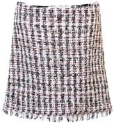 Sandy Liang Tweed Mini Skirt