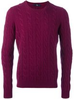 Fay cable knit jumper - men - Viscose/Cashmere/Virgin Wool - 52