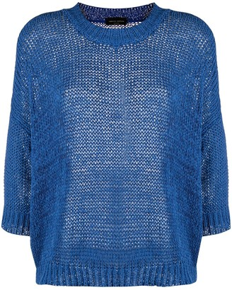 Roberto Collina Chunky Knit Crew Neck Jumper