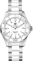 Tag Heuer WAY131H.BA0914 aquaracer stainless steel and ceramic watch