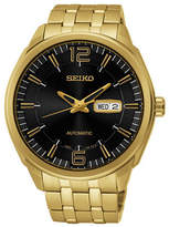 Seiko Recraft Series Goldplated Stainless Steel Watch