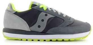 Saucony Jazz Original Grey Fluo Green Sneaker