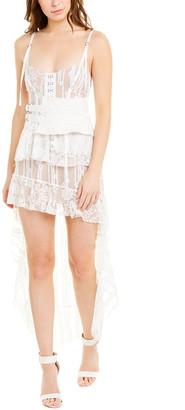 For Love & Lemons Claudette Maxi Dress