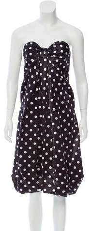 Michael Kors Polka Dot Silk Dress w/ Tags
