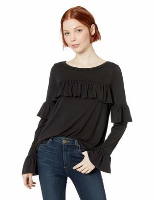 BB Dakota Junior's Poetic Justice Modal Jersey Ruffle top