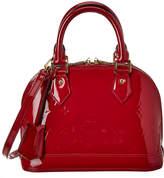 Louis Vuitton Pink Monogram Vernis Leather Alma Bb