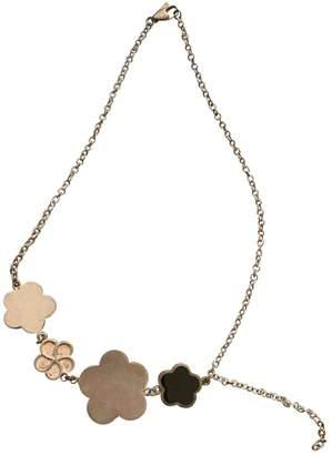 Christofle Metallic Silver Necklaces