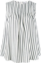 Brunello Cucinelli striped tank top - women - Silk/Brass - S