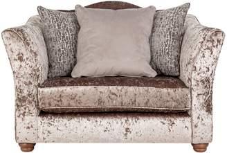 Argos Home Fantasia Velvet Cuddle Chair