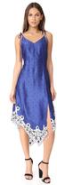 Sjyp Scarf Detail Slip Dress