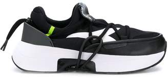 Diadora pull-on thick-sole sneakers