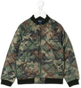 Ralph Lauren camouflage bomber jacket - kids - Cotton/Polyester - 2 yrs