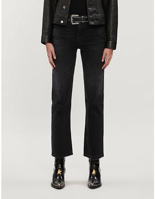 Boyish Brady high-rise flared cropped jeans