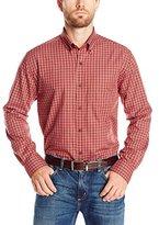 Cutter & Buck Men's Long Sleeve Mcmillian Plaid Woven Shirt