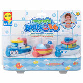 Alex Rub A Dub Magnetic Boats In The Tub 3-pc. Toy Playset