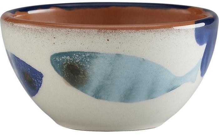 """Crate & Barrel Azul 3.5"""" Bowl"""