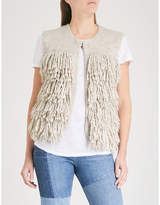 MiH Jeans Woodstock knitted gilet