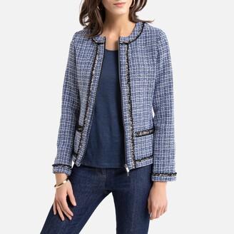 Anne Weyburn Short Tweed Jacket