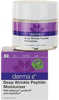 Derma E Deep Wrinkle Peptide Moisturizer with Matrixyl and Argireline 2 Ounce