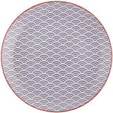 Design Studio Tokyo Star Wave Dinner Plate - Small Wave - Purple/Red
