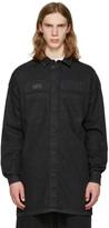 Ueg Black Denim Shirt