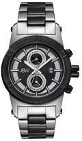 JBW Strider Two-Tone & Diamond Chronograph Watch, 44mm