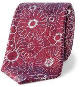 Simon Carter Daisy Floral Tie